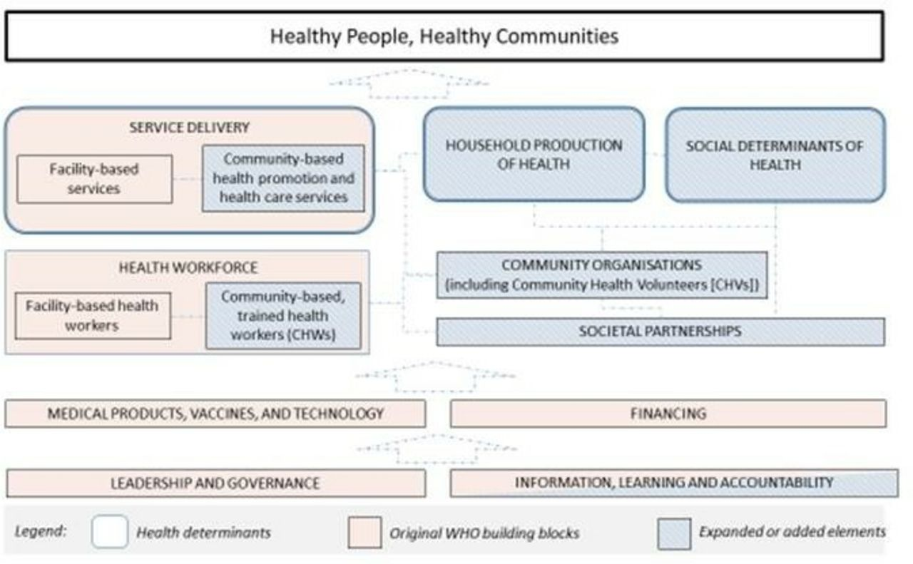 Beyond the building blocks: integrating community roles into health